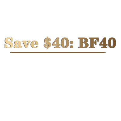 Over $169 Save $40: BF40