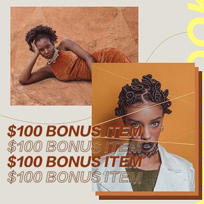 $100 Bonus Item