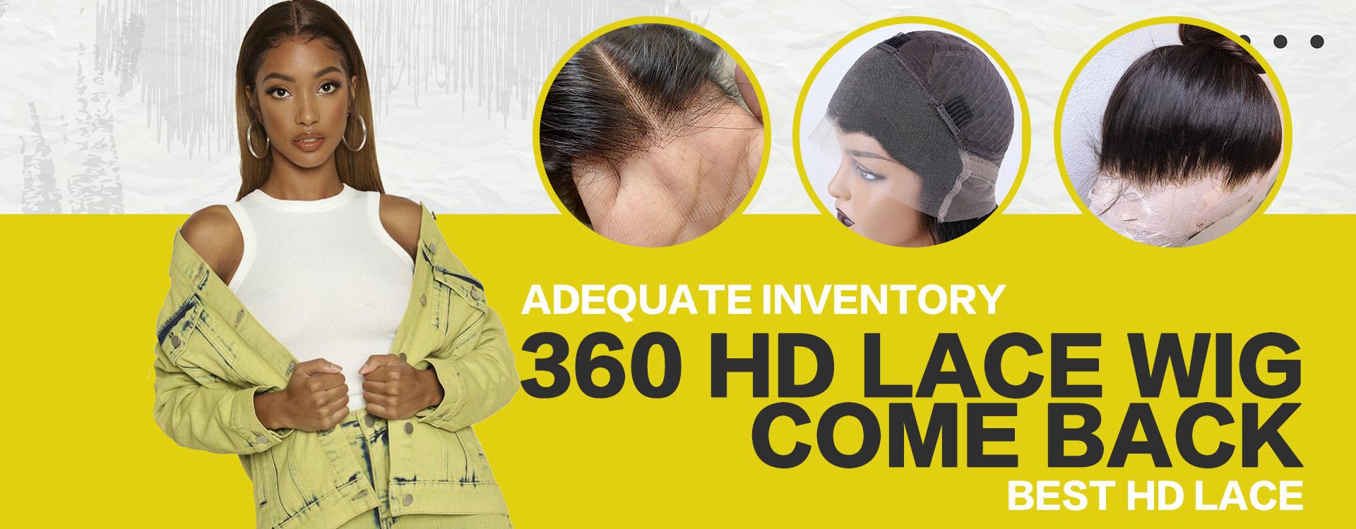 360 HD LACE WIG RESTOCK