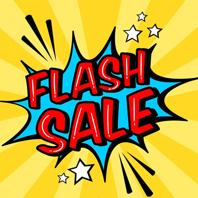 FLASH SALE UP TO 51% OFF