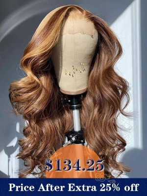 YSwigs Body Wave Undetectable Dream HD Lace Human Hair Full Lace Wig DS10