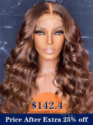 YSwigs Brazilian Virgin Human Hair Wave Undetectable Dream HD Lace Wig with Baby Hair GX02081