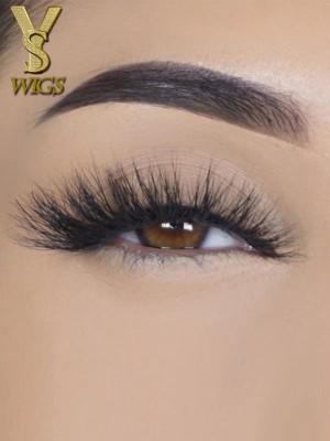 YSwigs natural 5D eyelashes makeup kit Mink Lashes extension mink eyelashes Carmel
