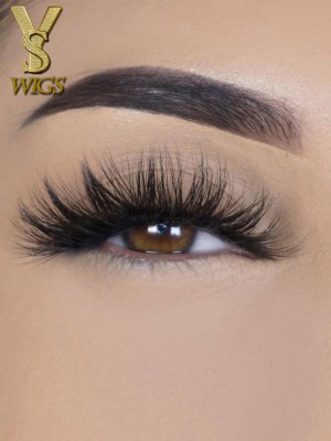 YSwigs natural 5D eyelashes makeup kit Mink Lashes extension mink eyelashes So Extra Mykanos