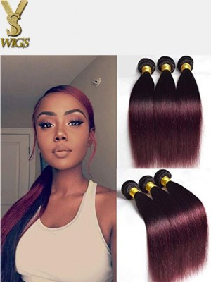 YSwigs 3 Pcs/pack Hair Brazilian Silky Straight Virgin Hair Bundles ST1