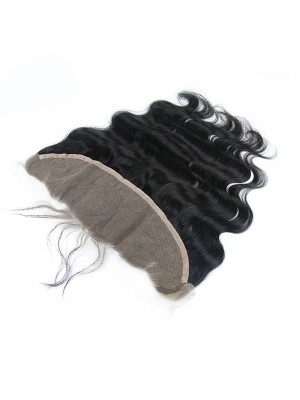 13X4 Pre Plucked Body Wave 100 Virgin Human Hair Lace Frontal Closure 130% Lace Closure C2