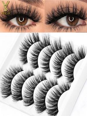 YSwigs 25mm natural 5D eyelashes makeup kit Mink Lashes extension mink eyelashes maquiagem EL1