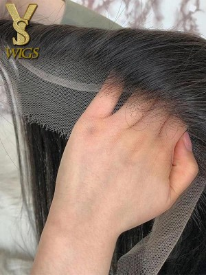 YSwigs Realistic Pre Plucked HD Lace 13X4 Human Hair Lace Frontal Closure HD1