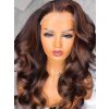 YSwigs Undetectable Dream HD Lace Two Tone Body Wave Human Hair Wigs for Black Women 136 Lace Front Wigs ys614