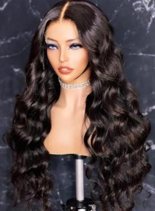 YSwigs Natural Wave Undetectable Dream HD Lace 360 Lace Human Hair Wig GX02085 (