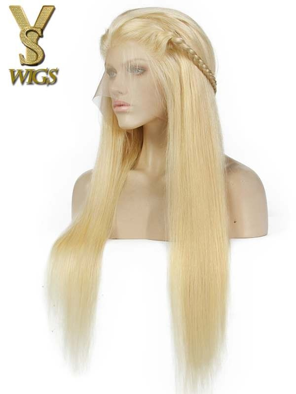 YSwigs Undetectable Dream HD Lace #613 Blonde Lace Front Virgin Human Hair Wigs in Stock