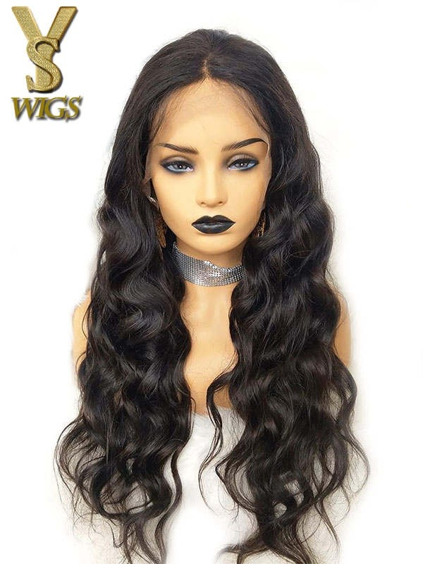 YSwigs Body Wave Pre Plucked Undetectable Dream HD Lace 134 Lace Fontal Human Hair Wigs