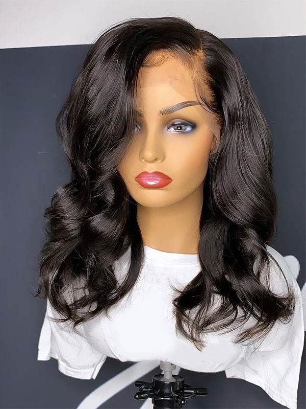 Yswigs Undetectable Dream Hd Lace Natural Wave Short Bob