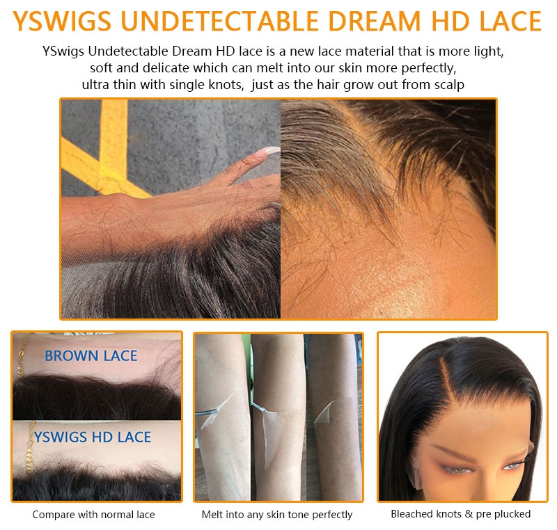 YSwigs HD lace wig