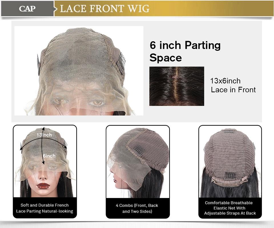 13*6 lace front wig cap