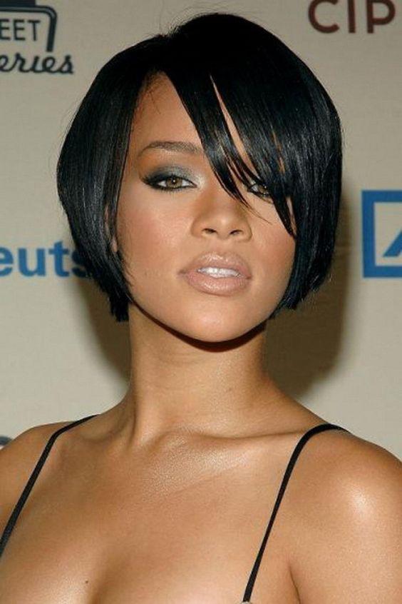 rihanna style human hair wigs