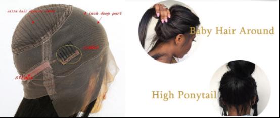 yswigs 360 lace frontal wigs